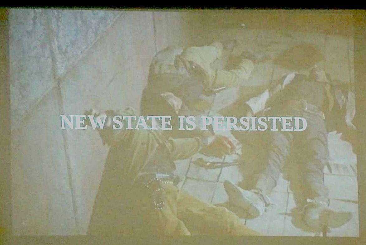 New state is persisted